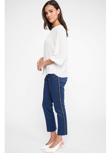 DeFacto Klasik Pantolon Lacivert